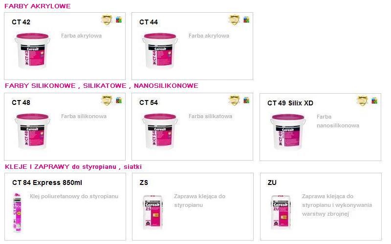 ceresit-ct42-ct44-farba-akrylowa-ct54-farba-silikatowa-ct48-farba-silikonowa-ct49-silix-xd-farba-nanosilikonowa-ct84-express-klej-do-styropianu-zs-zaprawa-do-styropianu-zu-zaprawa-do-siatk